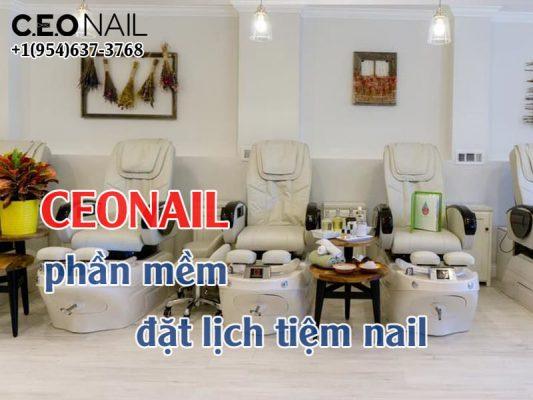 Ceonail Phan Mem Dat Lich Tiem Nail
