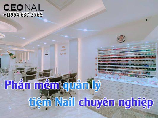 Phan Mem Quan Ly Tiem Nail Chuyen Nghiep
