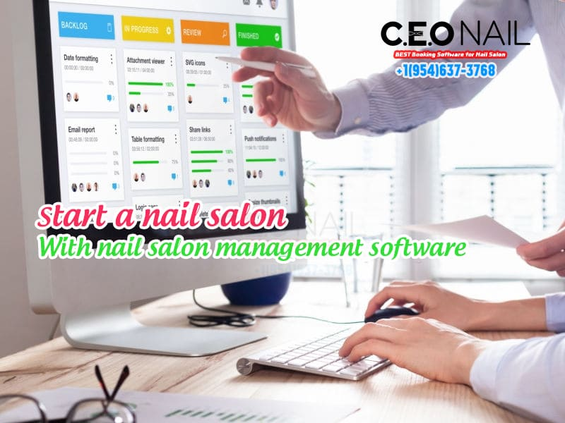 Nail Salon Management Software In The Usa