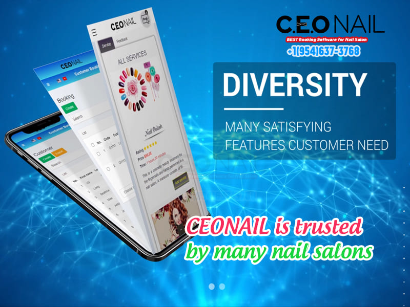 CEONAIL is trusted by many nail salons