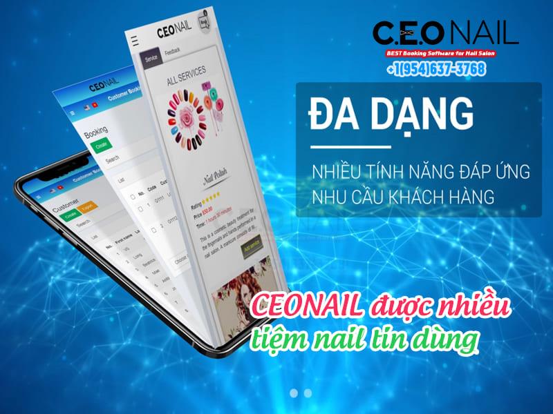 CEONAIL được nhiều tiệm nails tin dùng