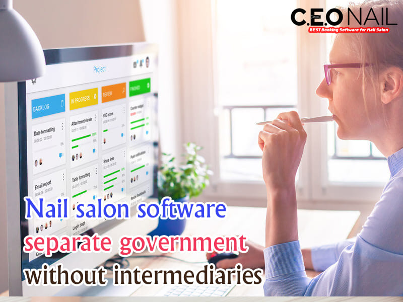 Nail salon software is separate owner without intermediaries