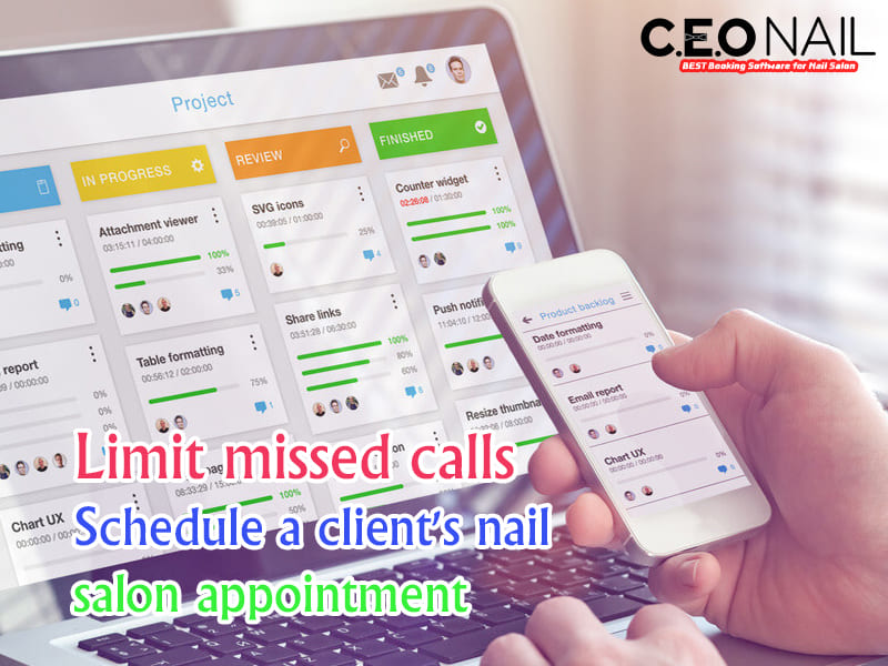 Limit missed calls to schedule customer appointments