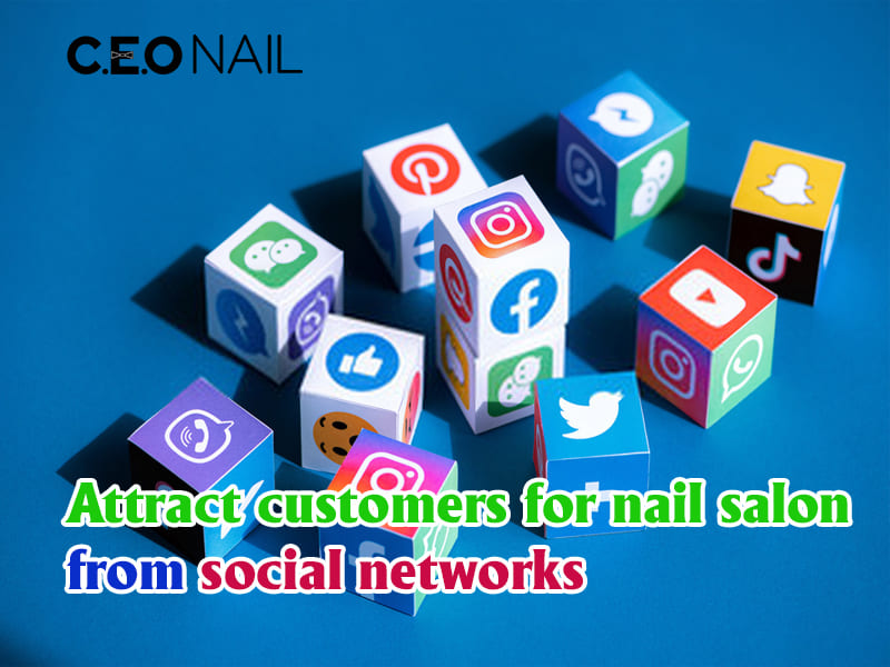 Attracting customers for nail salon from social networks