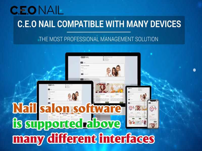 The software supports many different interfaces