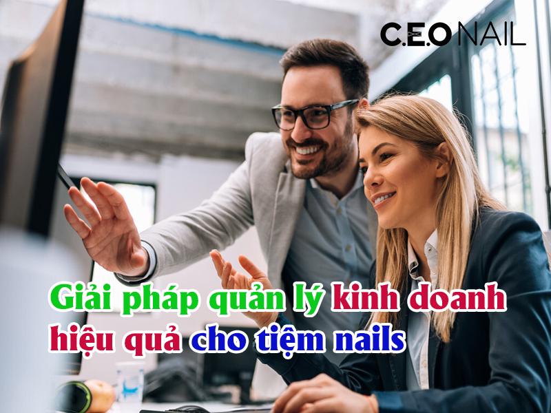Giải pháp quản lý kinh doanh hiệu quả cho tiệm nails