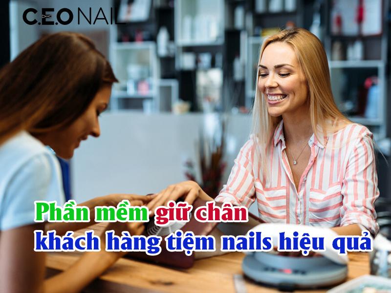 Phần mềm giữ chân khách hàng tiệm nails hiệu quả
