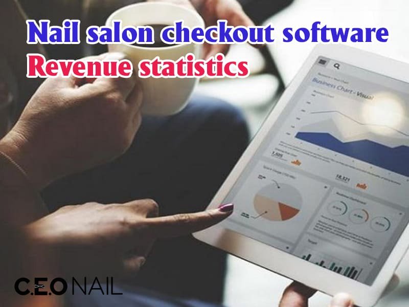 Nail salon checkout software, revenue statistics