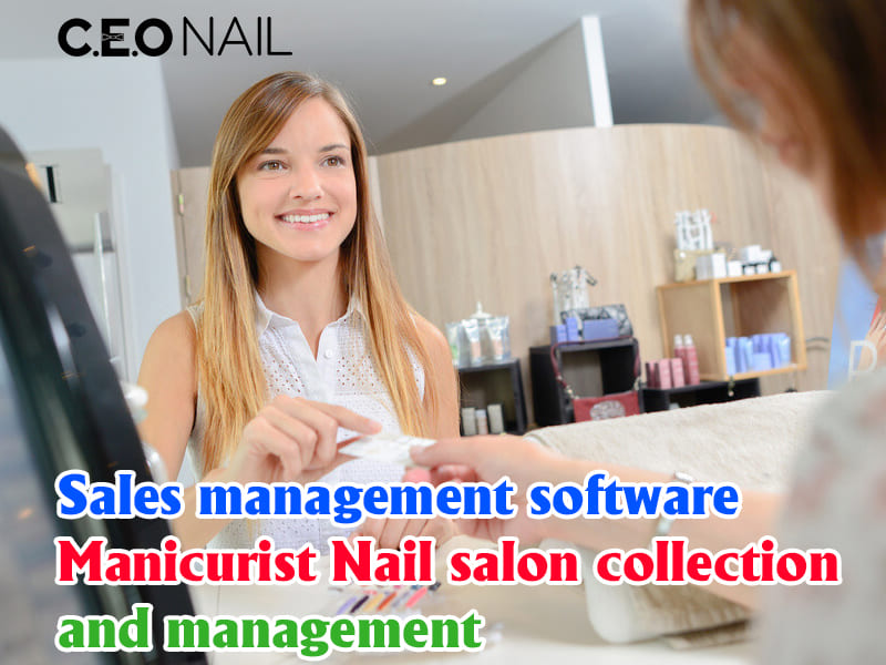 Manicurist nail salon sales management software