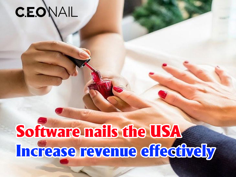 Nail USA software increases sales effectively