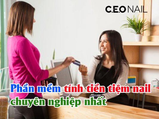 Phần mềm tính tiền tiệm nail chuyên nghiệp nhất