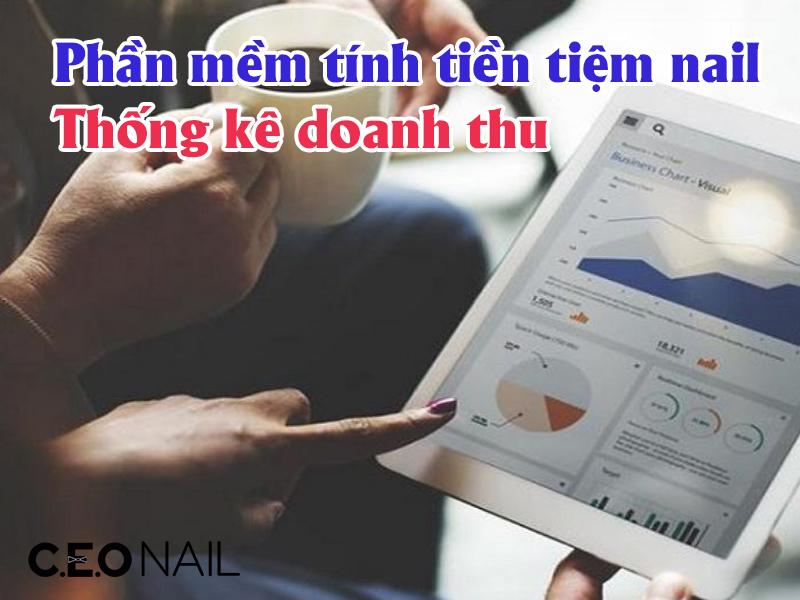 Phần mềm tính tiền tiệm nail, thống kê doanh thu
