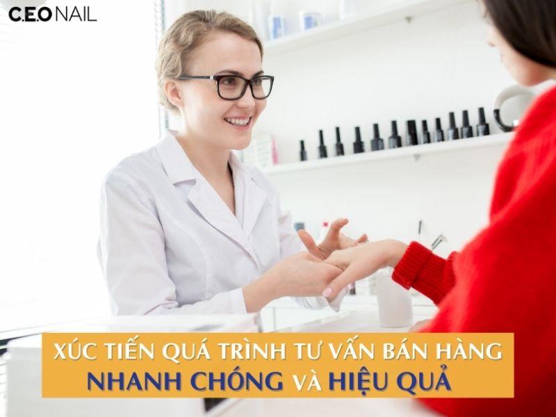 Phần mềm tiệm nail bán hàng online